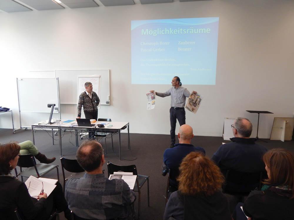Workshop Gerber Eggimann Borer
